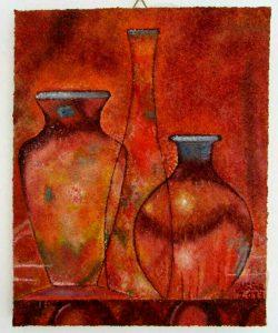 Natura statica cu vase