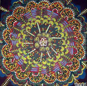 2. Autor Delia Vicas, tehnica acrilic 50x50cm