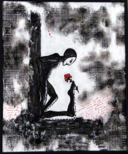 "7. ""Idila"" - Autor Sorina Stina, 60x50cm, tehnica mixta"